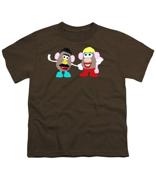 Mr. And Mrs. Potato Head Youth T-Shirt