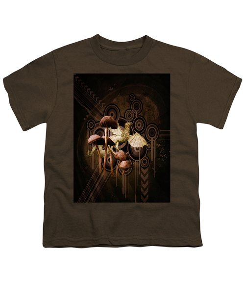 Mushroom Dragon Youth T-Shirt