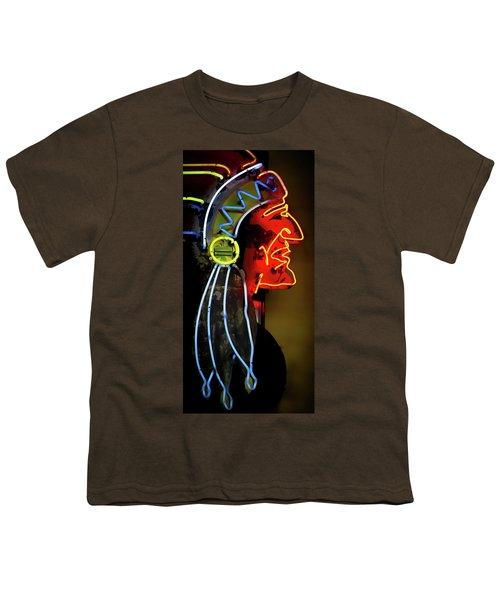 Neon Navajo Youth T-Shirt by David Patterson