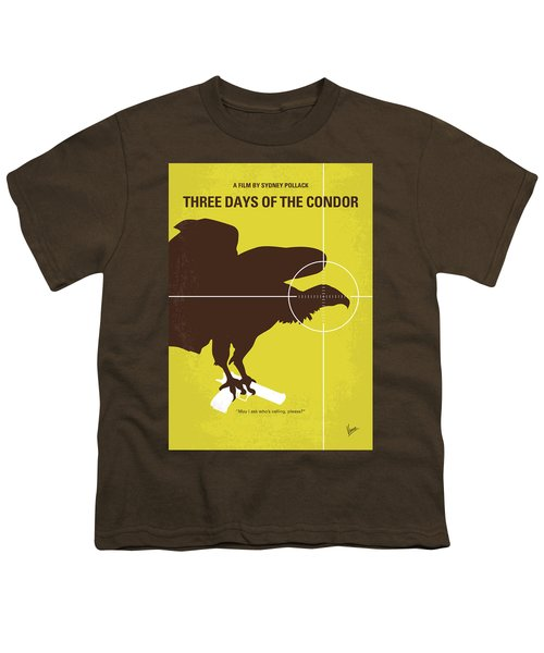 No659 My Three Days Of The Condor Minimal Movie Poster Youth T-Shirt