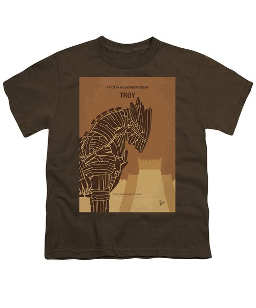No862 My Troy Minimal Movie Poster Youth T-Shirt