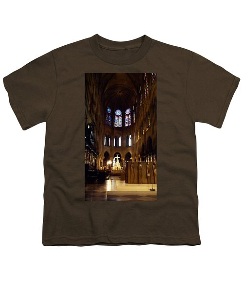 Notre Dame De Paris Youth T-Shirt by Takaaki Yoshikawa