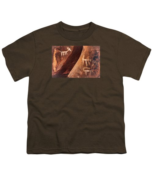 Palatki Pictographs9 Pnt Youth T-Shirt