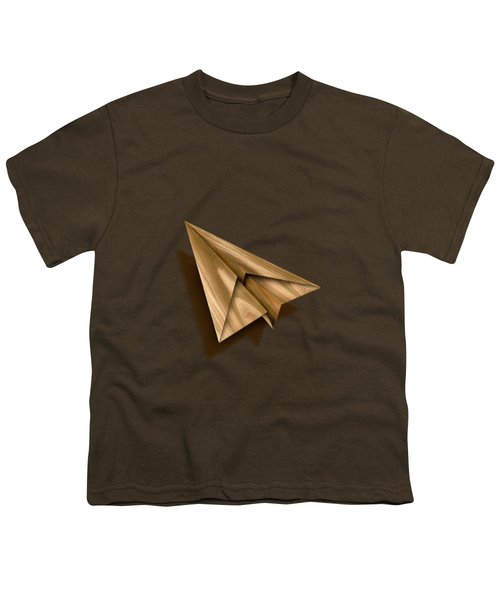 Paper Airplanes Of Wood 1 Youth T-Shirt by YoPedro
