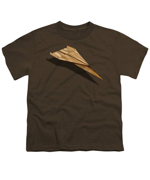 Paper Airplanes Of Wood 3 Youth T-Shirt by YoPedro