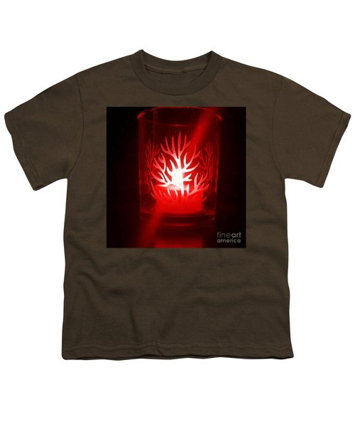 Red Candle Light Youth T-Shirt