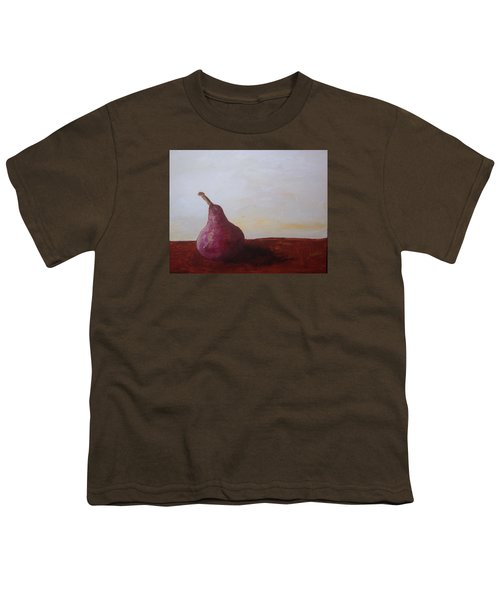 Red Pear Youth T-Shirt by Roxy Rich