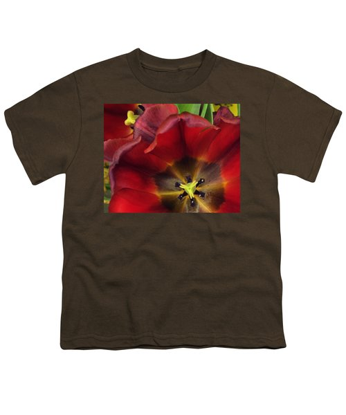 Red Tulips Youth T-Shirt
