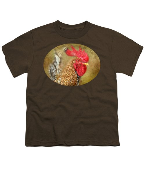 Rooster Profile Youth T-Shirt