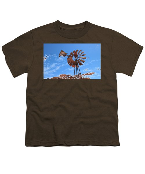 Youth T-Shirt featuring the photograph Rust Age by Stephen Mitchell