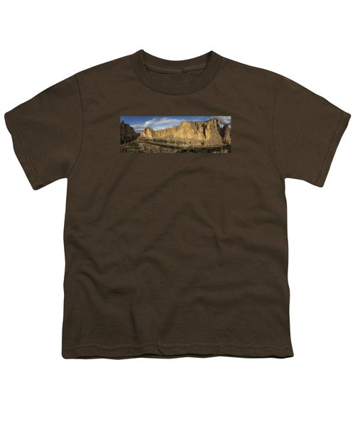 Smith Rock And Crooked River Panorama Youth T-Shirt