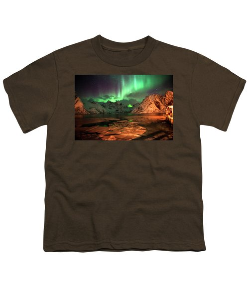 Spectacular Night In Lofoten 1 Youth T-Shirt