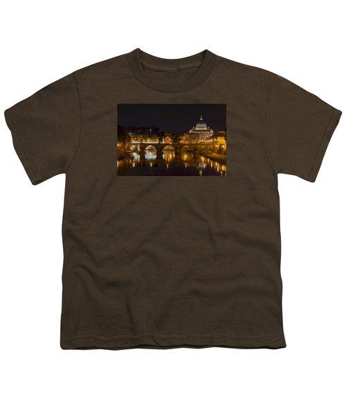 St. Peter's Basilica-655 Youth T-Shirt by Alex Ursache