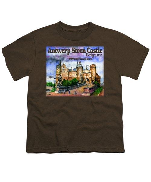 Steen Castle Antwerp Youth T-Shirt
