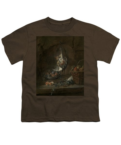 Still Life With Dead Pheasant Youth T-Shirt