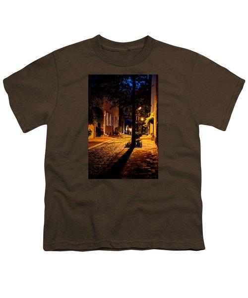 Street In Olde Town Philadelphia Youth T-Shirt