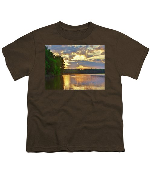 Sunrise At The Landing Youth T-Shirt
