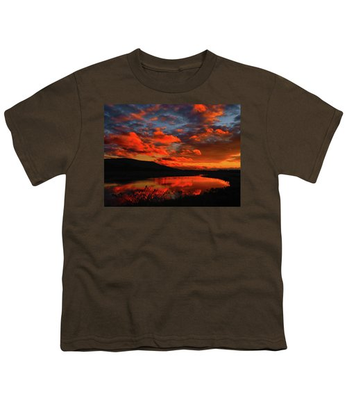 Sunset At Wallkill River National Wildlife Refuge Youth T-Shirt