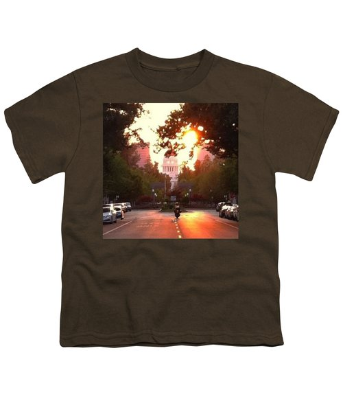The Capitol In #sacramento #california Youth T-Shirt