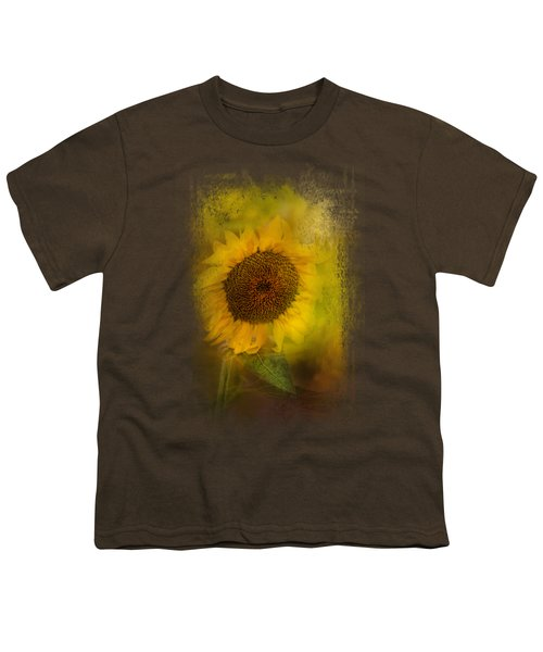 The Happiest Flower Youth T-Shirt by Jai Johnson