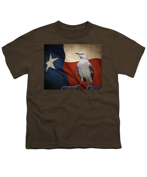 The State Bird Of Texas Youth T-Shirt by David and Carol Kelly