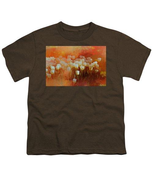 White Tulips Youth T-Shirt