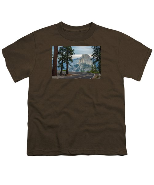 Yosemite Glacier Point Youth T-Shirt by Jonas Wehbrink