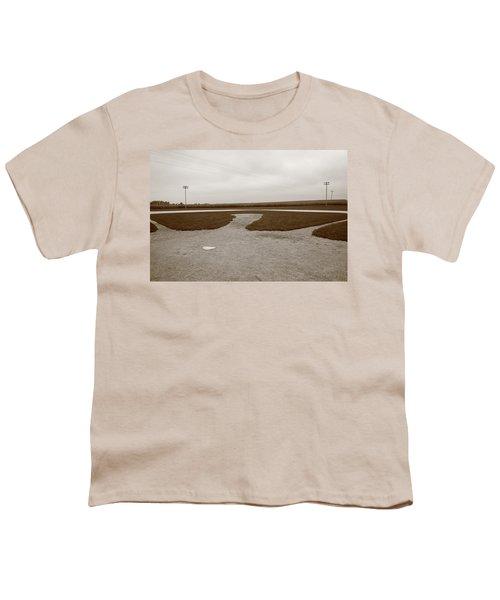 Baseball Youth T-Shirt by Frank Romeo