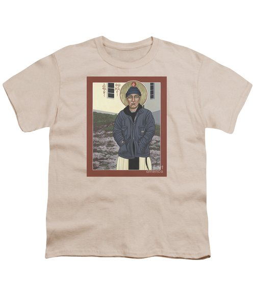 Holy World Evangelist Thomas Merton 267 Youth T-Shirt