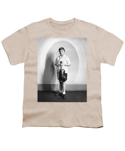 Violinist Yehudi Menuhin Youth T-Shirt