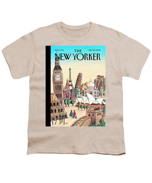 New Yorker April 20th, 2009 Youth T-Shirt