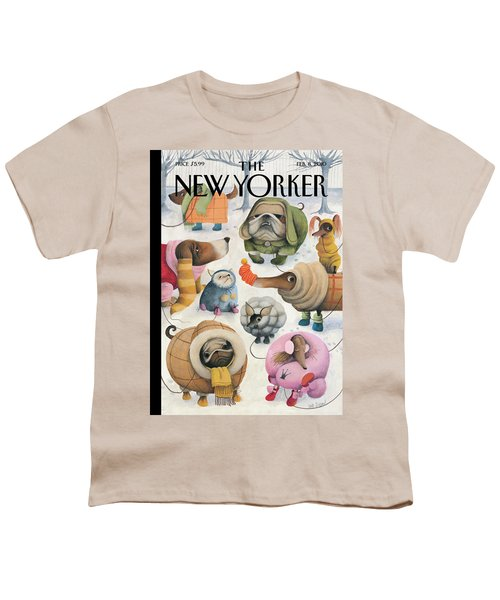 New Yorker February 8th, 2010 Youth T-Shirt