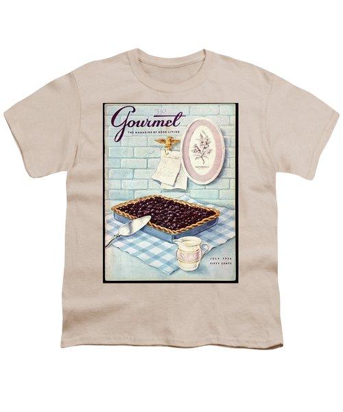 A Blueberry Tart Youth T-Shirt