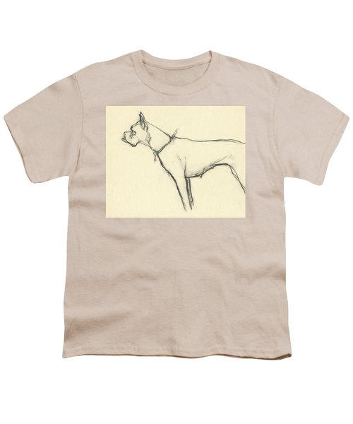 A Boxer Dog Youth T-Shirt
