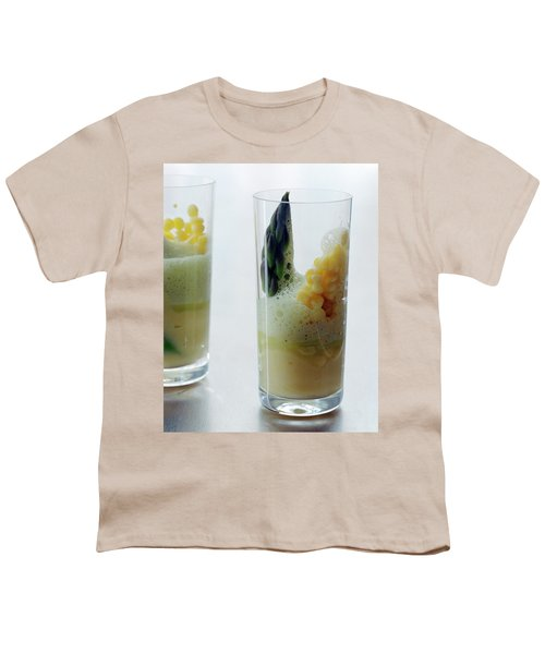 A Drink With Asparagus Youth T-Shirt