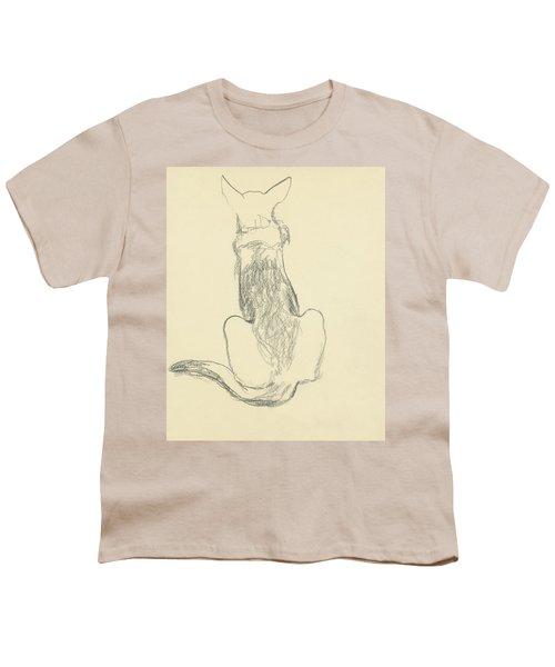 A German Shepherd Youth T-Shirt