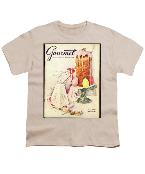 A Gourmet Cover Of A Cake Youth T-Shirt