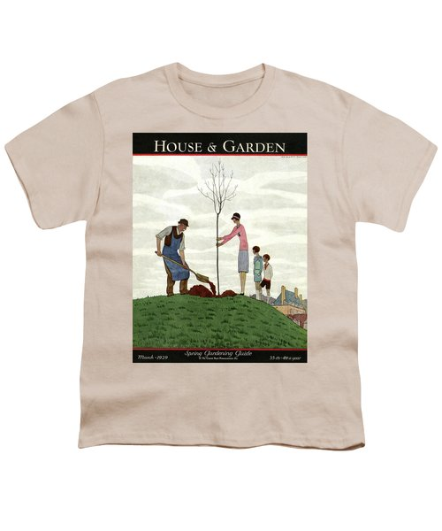 A House And Garden Cover Of People Planting Youth T-Shirt