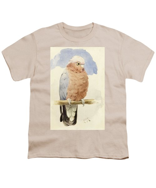 A Rose Breasted Cockatoo Youth T-Shirt