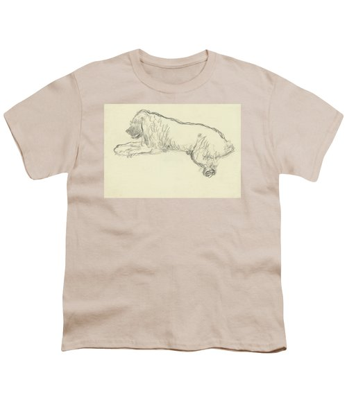 An Illustration Of A Dog Youth T-Shirt