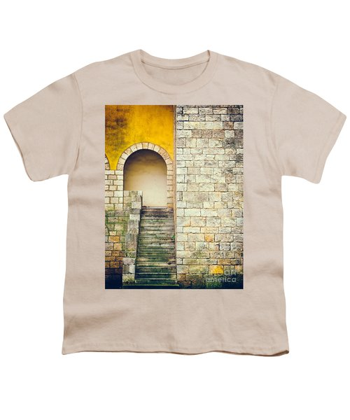 Youth T-Shirt featuring the photograph Arched Entrance by Silvia Ganora