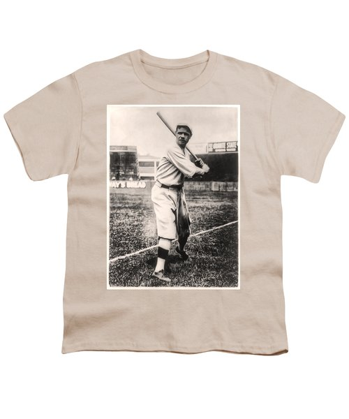 Babe Ruth Youth T-Shirt by Bill Cannon