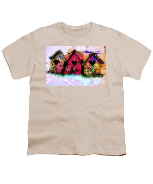 Baby Birdhouses Youth T-Shirt