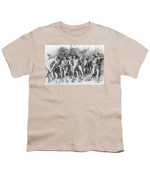 Bacchanal With Silenus - Albrecht Durer Youth T-Shirt by Daniel Hagerman