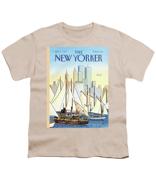 Back In The New World Youth T-Shirt