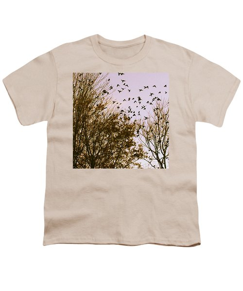 Birds Of A Feather Flock Together Youth T-Shirt