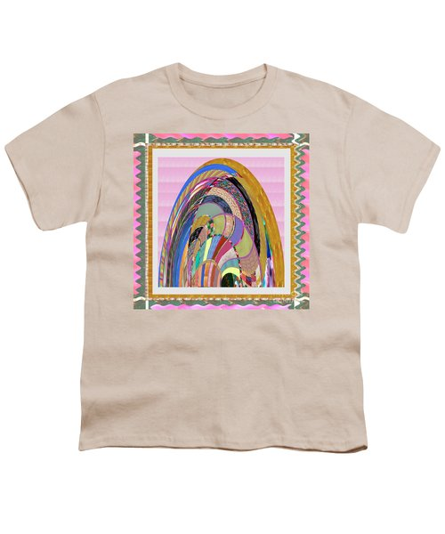 Bride In Layers Of Veils Accidental Discovery From Graphic Abstracts Made From Crystal Healing Stone Youth T-Shirt