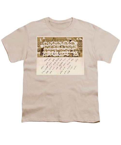 Brooklyn Dodgers Baseball Team Youth T-Shirt