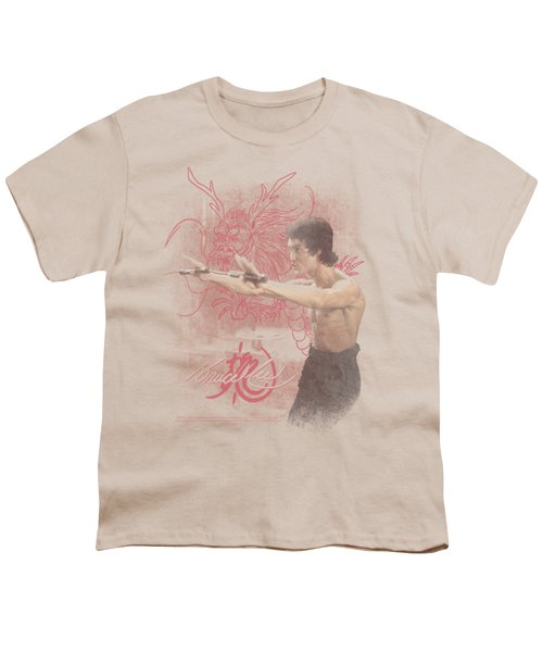 Bruce Lee - Power Of The Dragon Youth T-Shirt