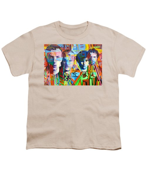 Coldplay Youth T-Shirt by Joshua Morton